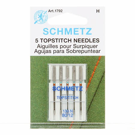 Schmetz Topstitch Machine Needle Size 12/80
