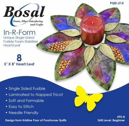 Bosal Leaf/Heart Wreath Stabilizer