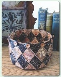 Woven Spiral Bowls