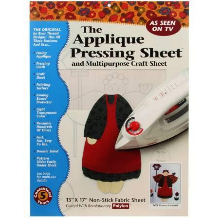 Pressing Sheet Applique Sheet
