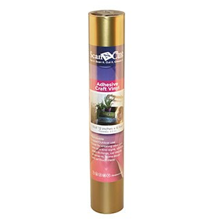 Gold Adhesive Craft Vinyl