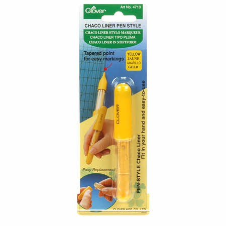Chaco Liner Pen Style - Yellow