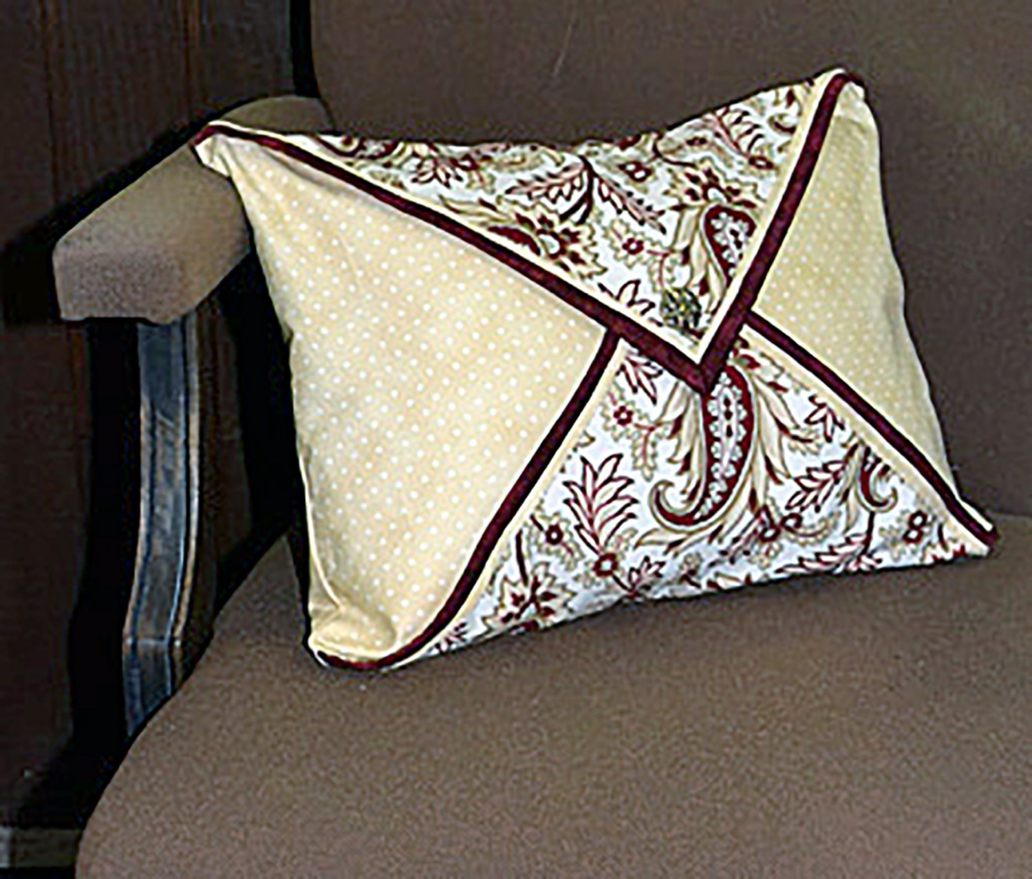 Double Flap Pillow Pattern