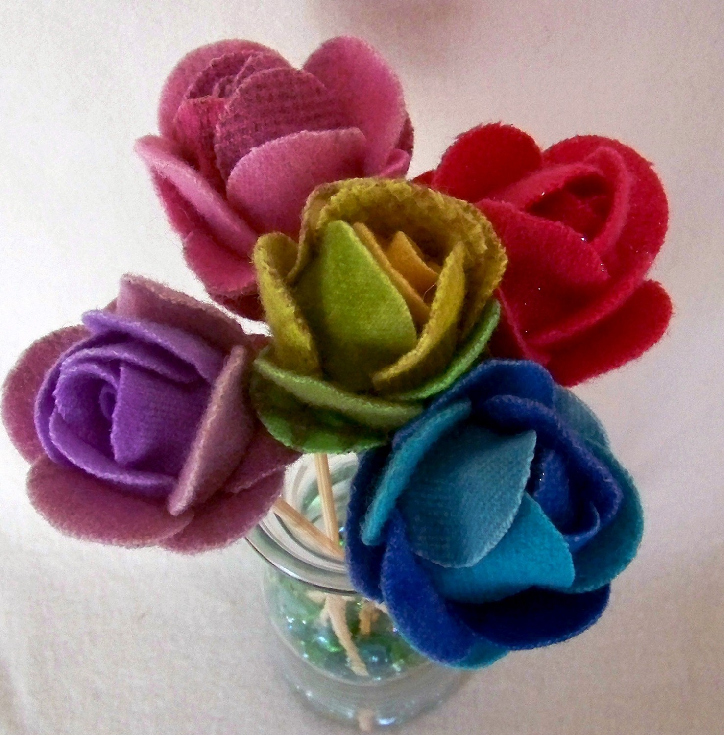 Wooly Roses Pattern