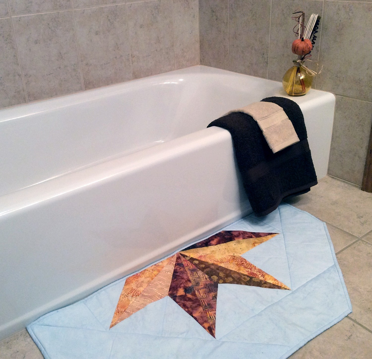 Plush Bathmat Pattern