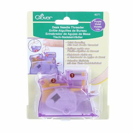 Desk Needle Threader - Purple
