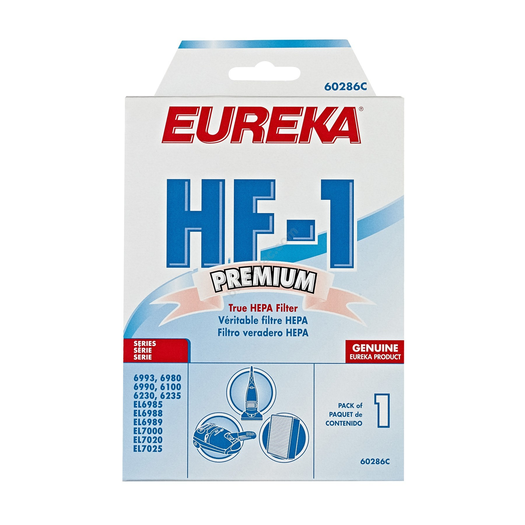 Genuine Eureka HF-1 Filter