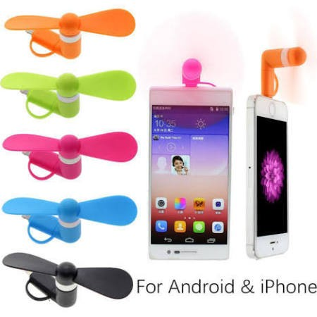 Smartphone Fan for Android Orange