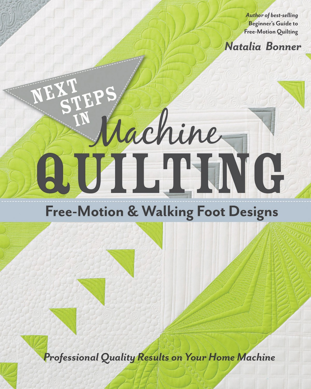 Next Steps In Machine Quilting Book