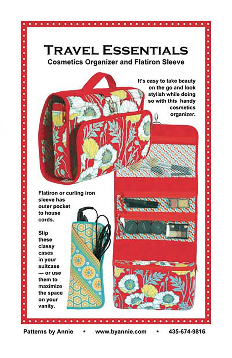 Travel Essentials Pattern