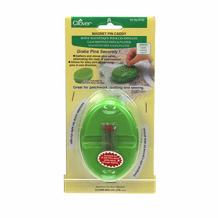 Magnet Pin Caddy - Green
