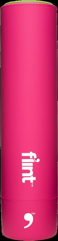 Pink Flint Lint Remover
