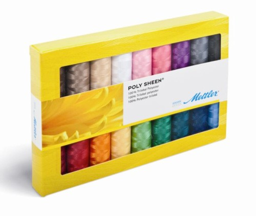 Mettler Poly Sheen 18 Spool Thread Set