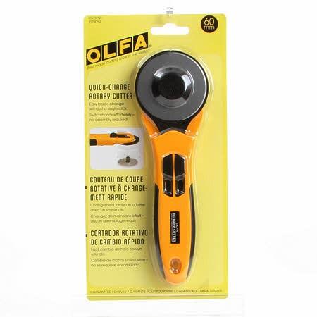 Olfa Quick Change Rotary Cutter - 60MM - *RTY-3NS