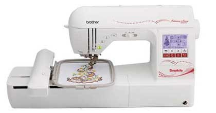 Simplicity Embroidery and Sewing Machine SB8000