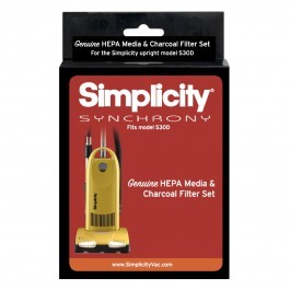 Simplicity Synchrony S30D Filter Set HEPA Media and Charcoal Filter Set