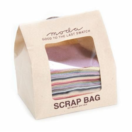 Wool Scrap Bag by Moda