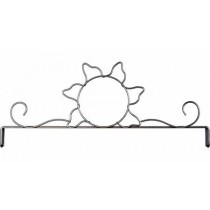 12in Sun Header Silver Tex