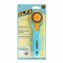 Splash Rotary Cutter 45mm - Aqua