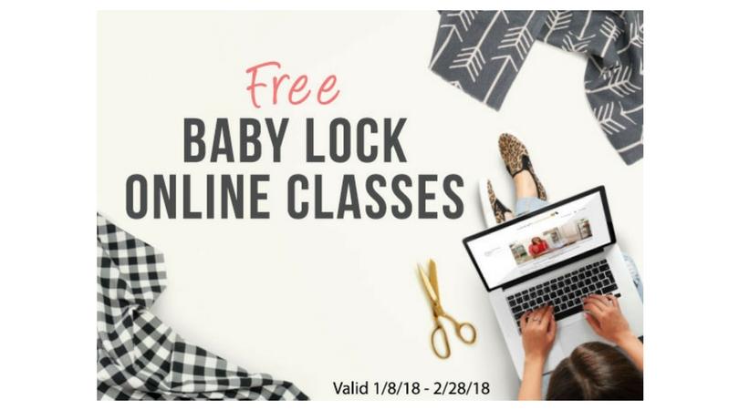 Babylock Online Classes