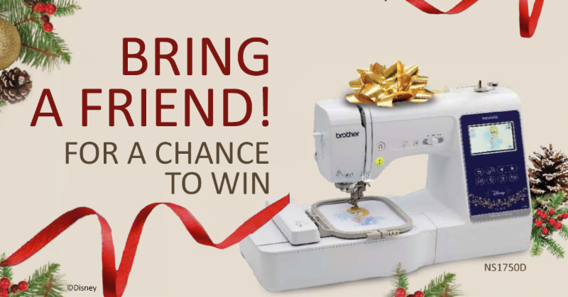 Brother Bring A Friend Sweepstakes