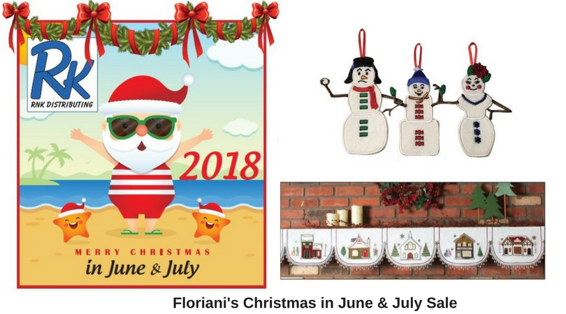 Floriani's Christmas in June & July Sale