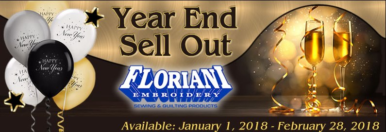 Floriani Year End Sell Out
