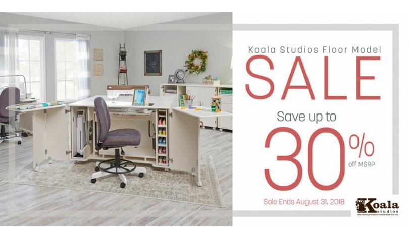 Koala Floor Model Sale 2018