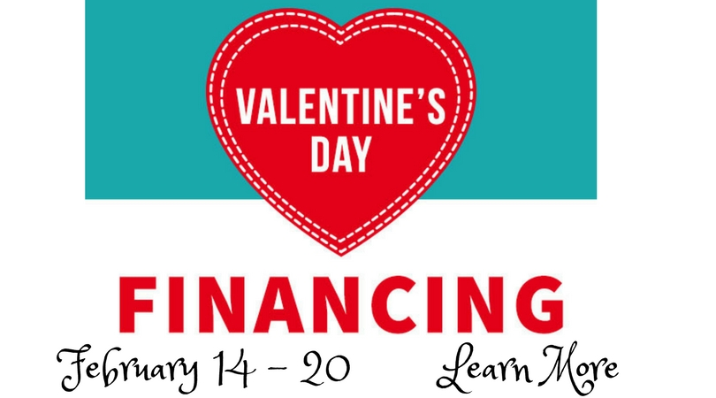 Babylock Valentine's Day Financing