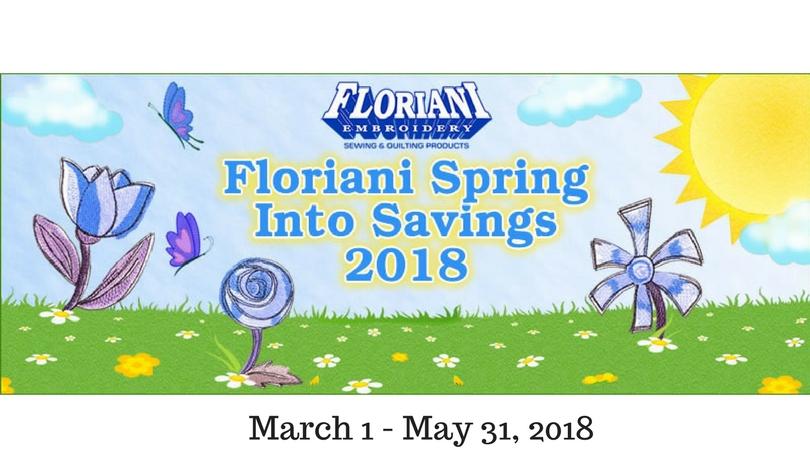 Floriani Spring Specials