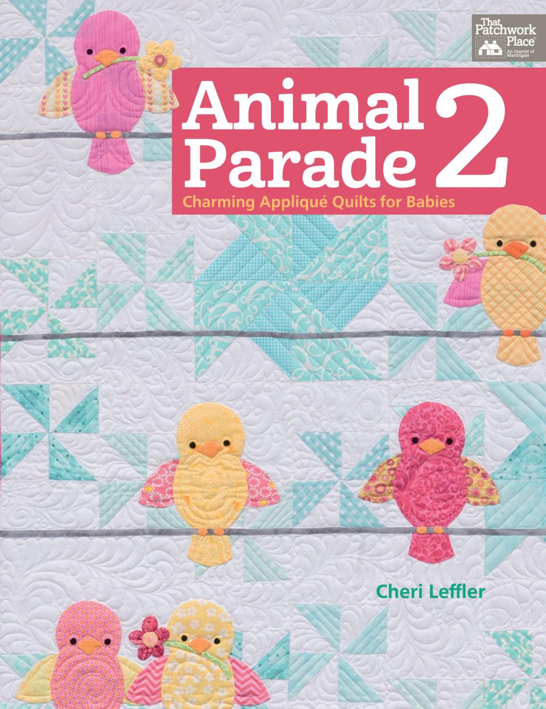 Animal Parade 2 Quilt Book