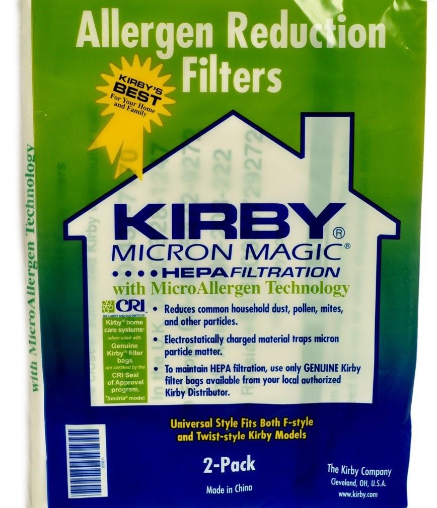 Kirby Hepa Vacuum Bags 2 Pack