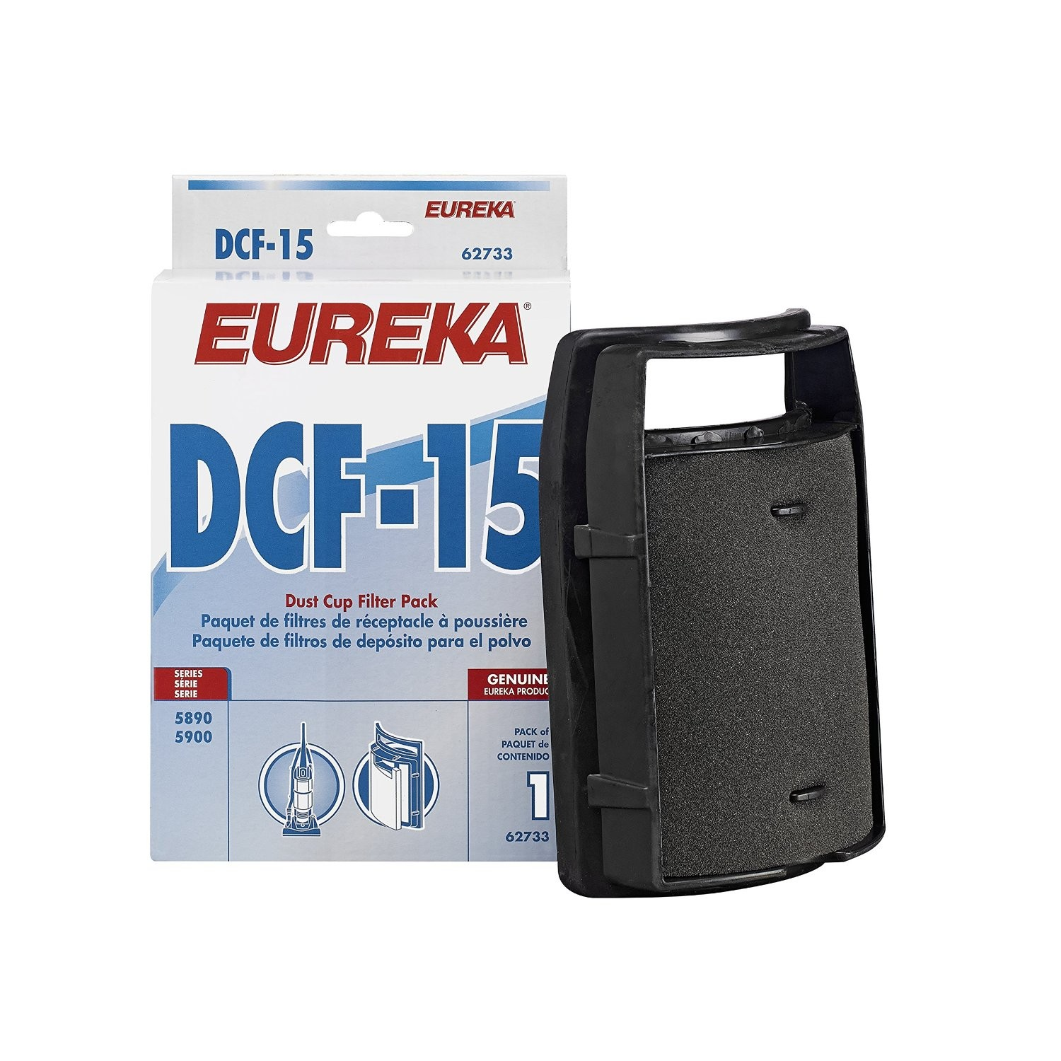 Eureka Genuine DCF-15 filter