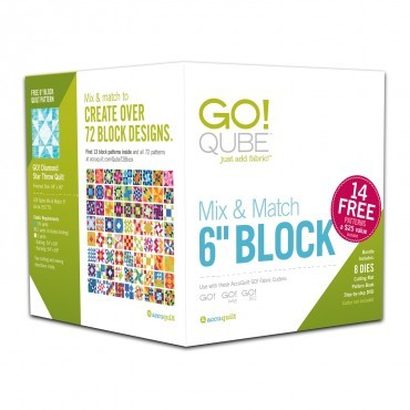 "Go! Qube Mix and Match 6"" Block"