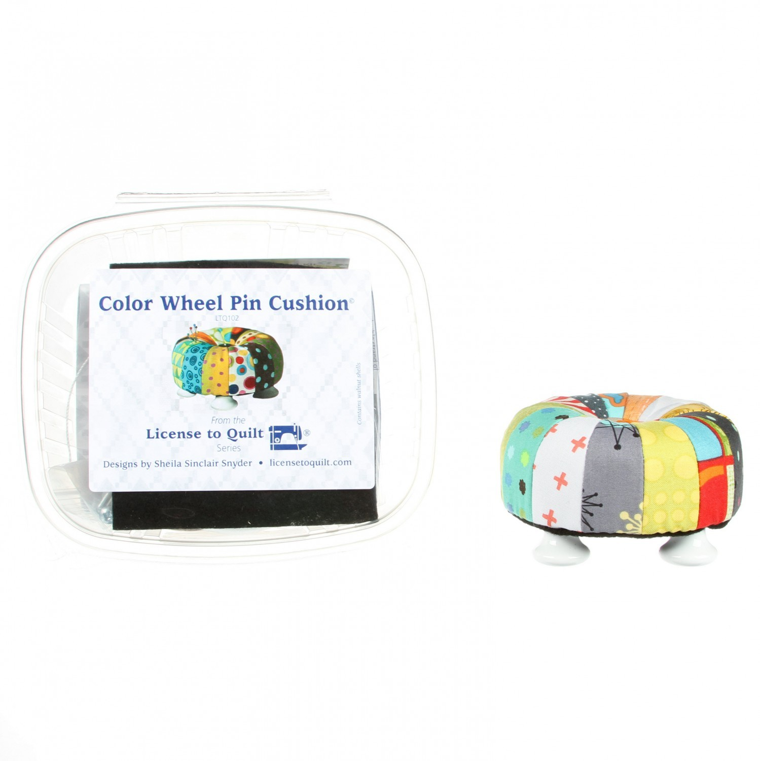 Color Wheel Pin Cushion