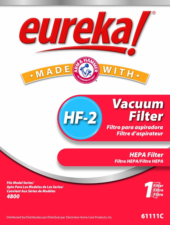 Genuine Eureka HF-2 Filter