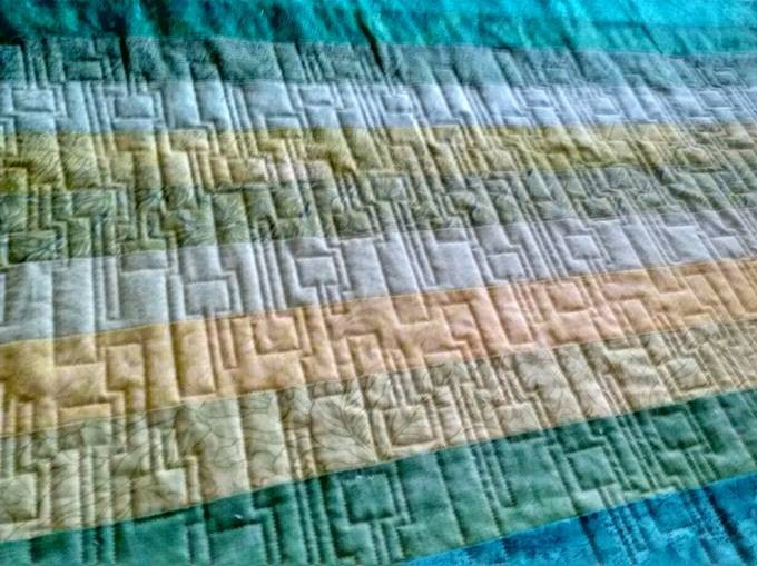 Edge To Edge Quilting In The Hoop