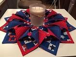 Fold 'N Stitch Wreath Pattern