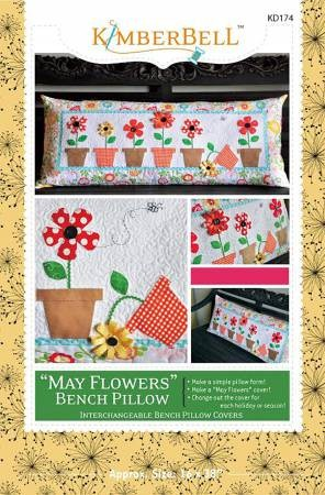 May Flowers Bench Pillow