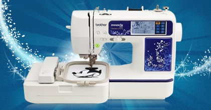 Brother Innov-is 990D Combination Sewing & Embroidery with Disney