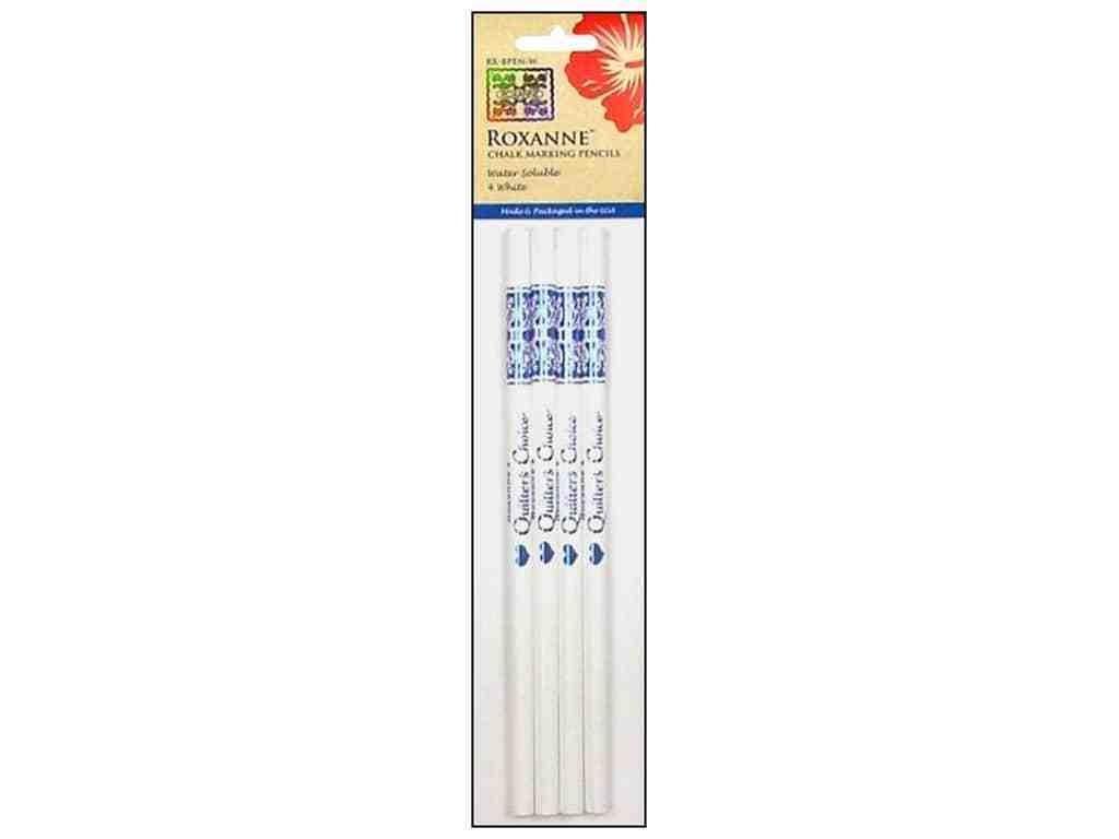 Roxanne Water Soluble Chalk Marking Pencils - Silver