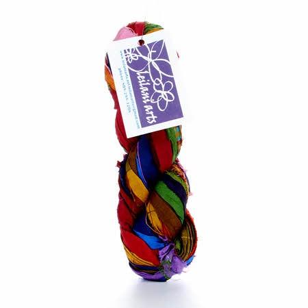 Recycled Silk Sari Ribbon 60yd