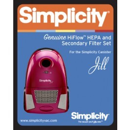Simplicity Hepa and Secondary Filters for Jill