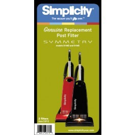 Simplicity Electrostatic Filters for Symmetry Deluxe and Standard