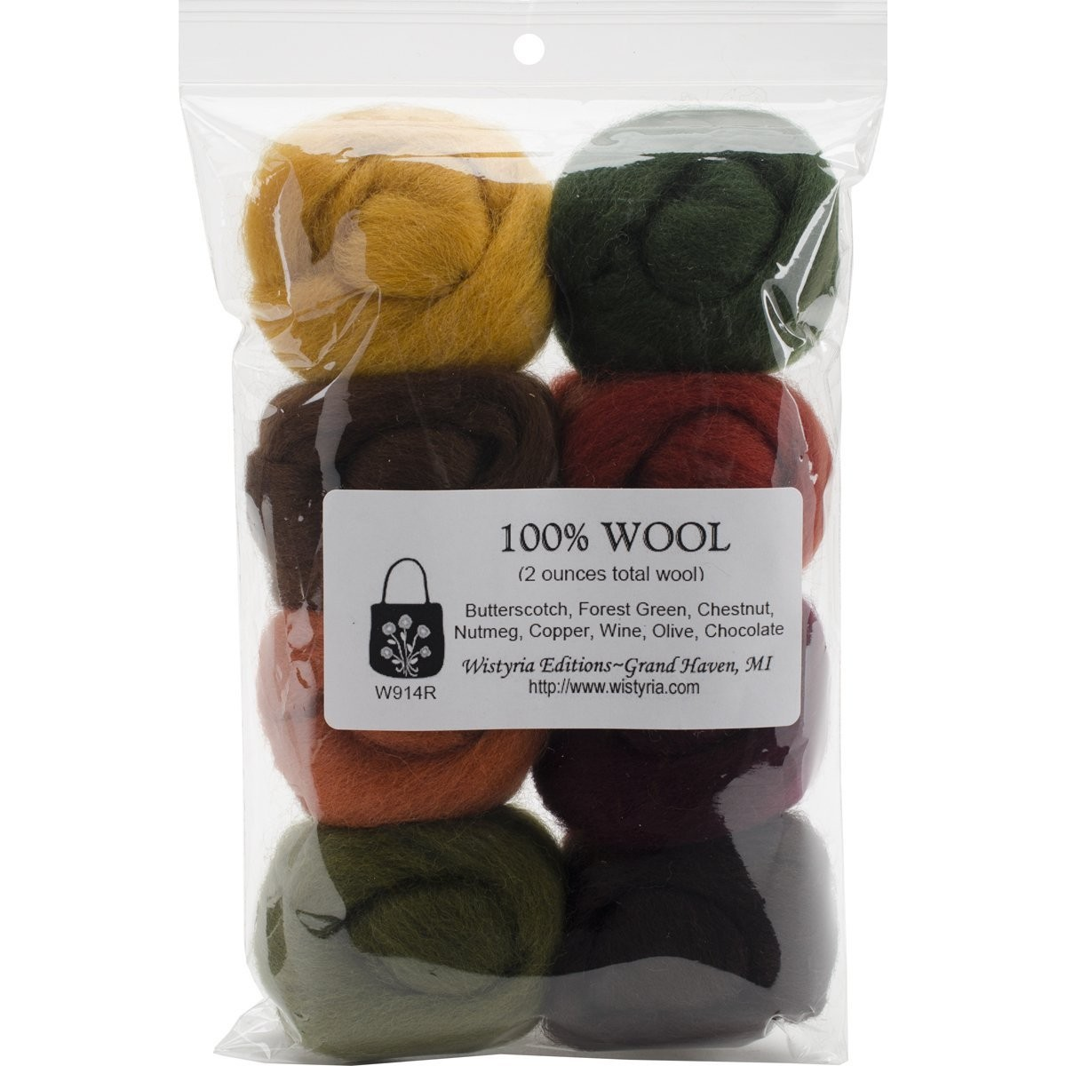 100% Wool - Timberland Colors