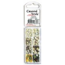 Eye Kandi 8 Section Crystal Pack Victorian Mix