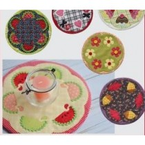 Let's Sew Candle Mats
