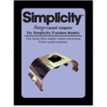 Simplicity Freedom Frieze Carpet Adapter