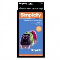 Simplicity Hepa Type Z Bags