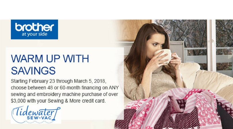 Brother It's Cold Outside Financing Promotion